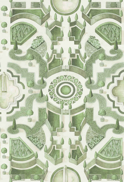 Cole & Son - Botanical - Topiary 115/2005 Leaf Green