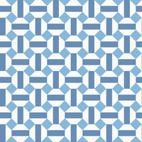 Cole & Son - Seville Collection - Alicatado 117/12037 Hyacinth on Chalk