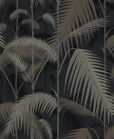 Palm Jungle 95/1004 Gilver on Charcoal