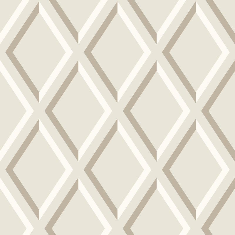 Cole & Son - The Contemporary Collection - Pompeian 95/11059 Gilver & White on Stone