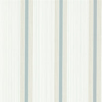 Little Greene - Painted Papers - Cavendish Stripe - Brush Blue
