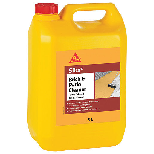 Sika Brick And Patio Acid Based Cleaner 5L