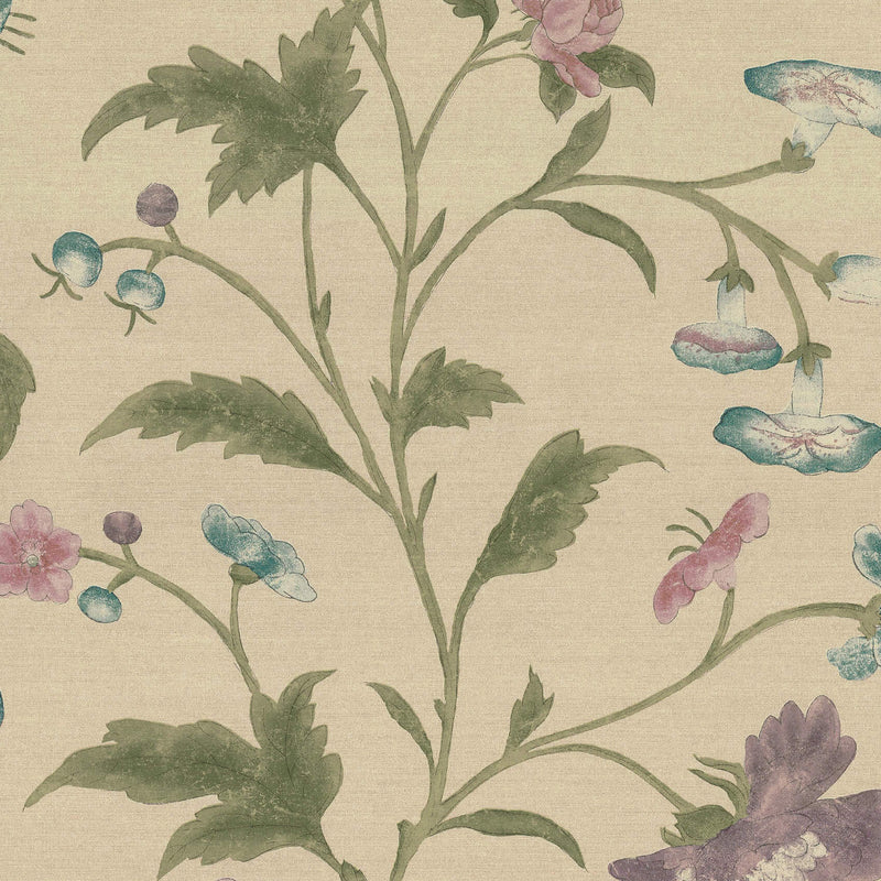 Little Greene - Archive Trails - China Rose - Sage
