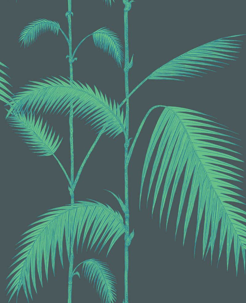 Cole & Son - Icons - Palm Leaves 112/2007	Viridian