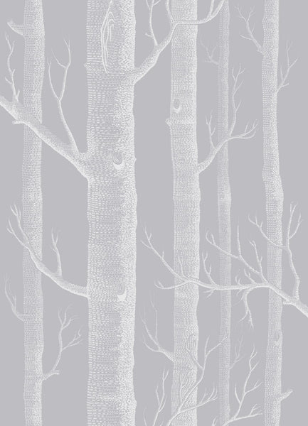 Cole & Son - Icons - Woods 112/3012 Grey & White
