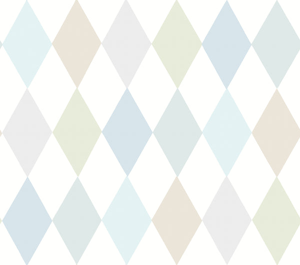 Cole & Son - Whimsical - Punchinello 103/2011 Soft Blue