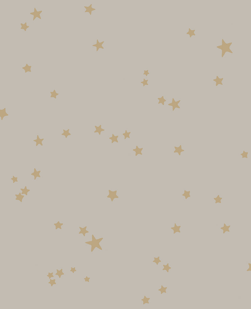 Cole & Son - Whimsical - Stars 103/3013 Linen & Gold
