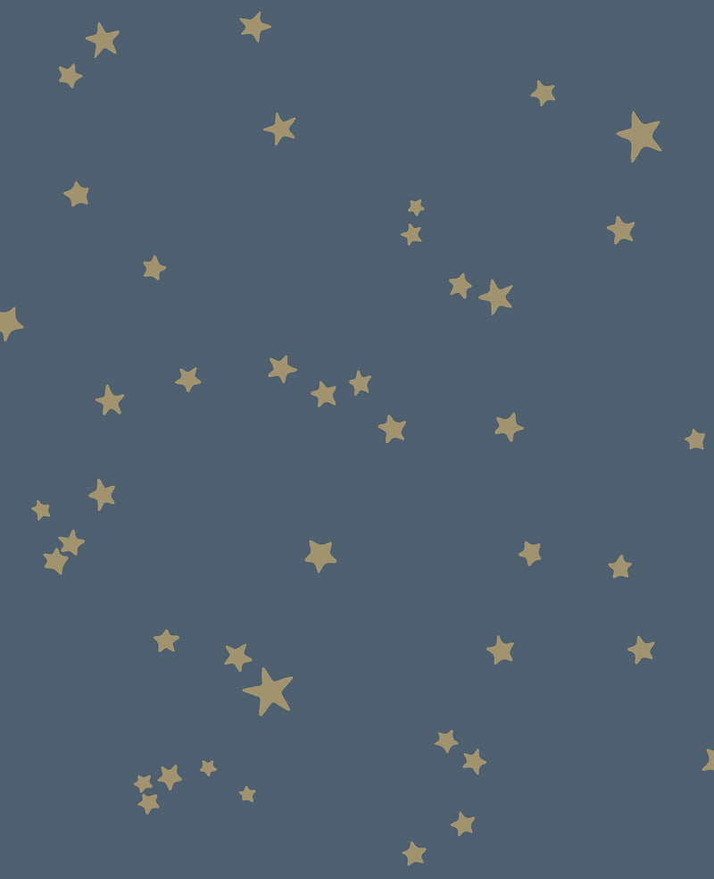 Cole & Son - Whimsical - Stars 103/3017  Midnight Blue