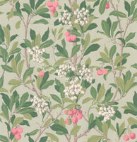 Cole & Son - Archive Anthology - Strawberry Tree 100/10048 pink & duck egg