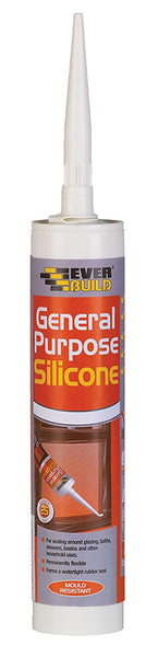 General Purpose Silicone - Multi-purpose silicone sealant - 310ml (Black, Grey, Brown)