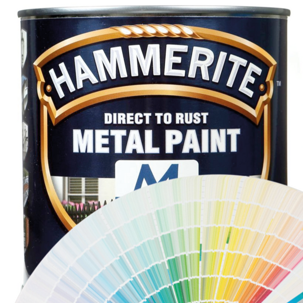Direct to Rust Metal Paint Smooth Finish 750ml (Any Hammerite Colour)