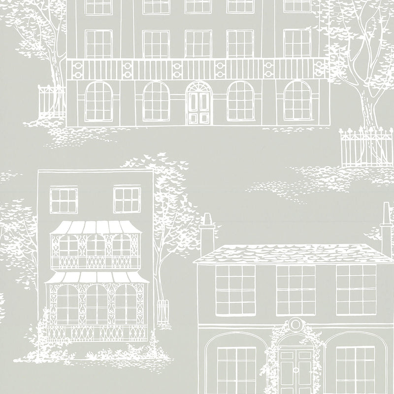 Little Greene - 20th Century Papers - Hampstead - Cool Grey