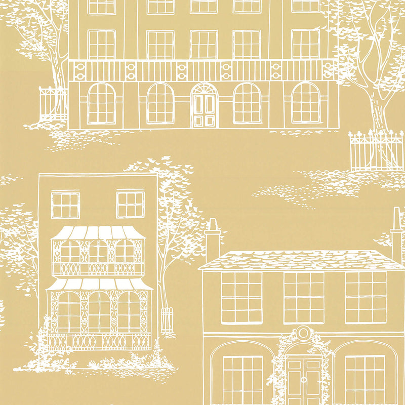 Little Greene - 20th Century Papers - Hampstead Yellow Apple