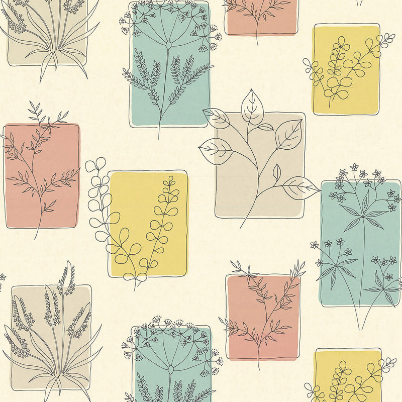 Little Greene - 20th Century Papers - Herbes Cocktail