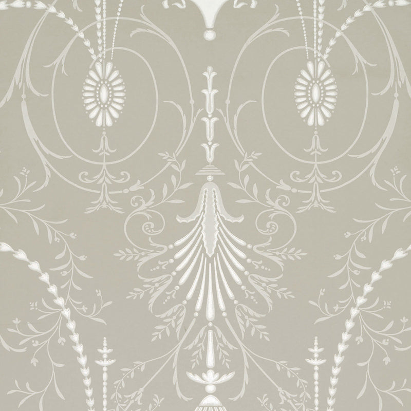 Little Greene - London Wallpapers V - Marlborough - Paris Grey