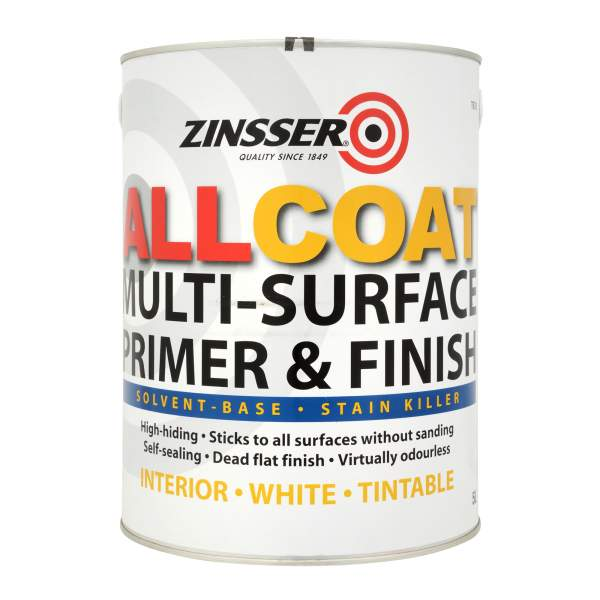 Zinsser AllCoat Interior (Solvent-Based) (Tintable)