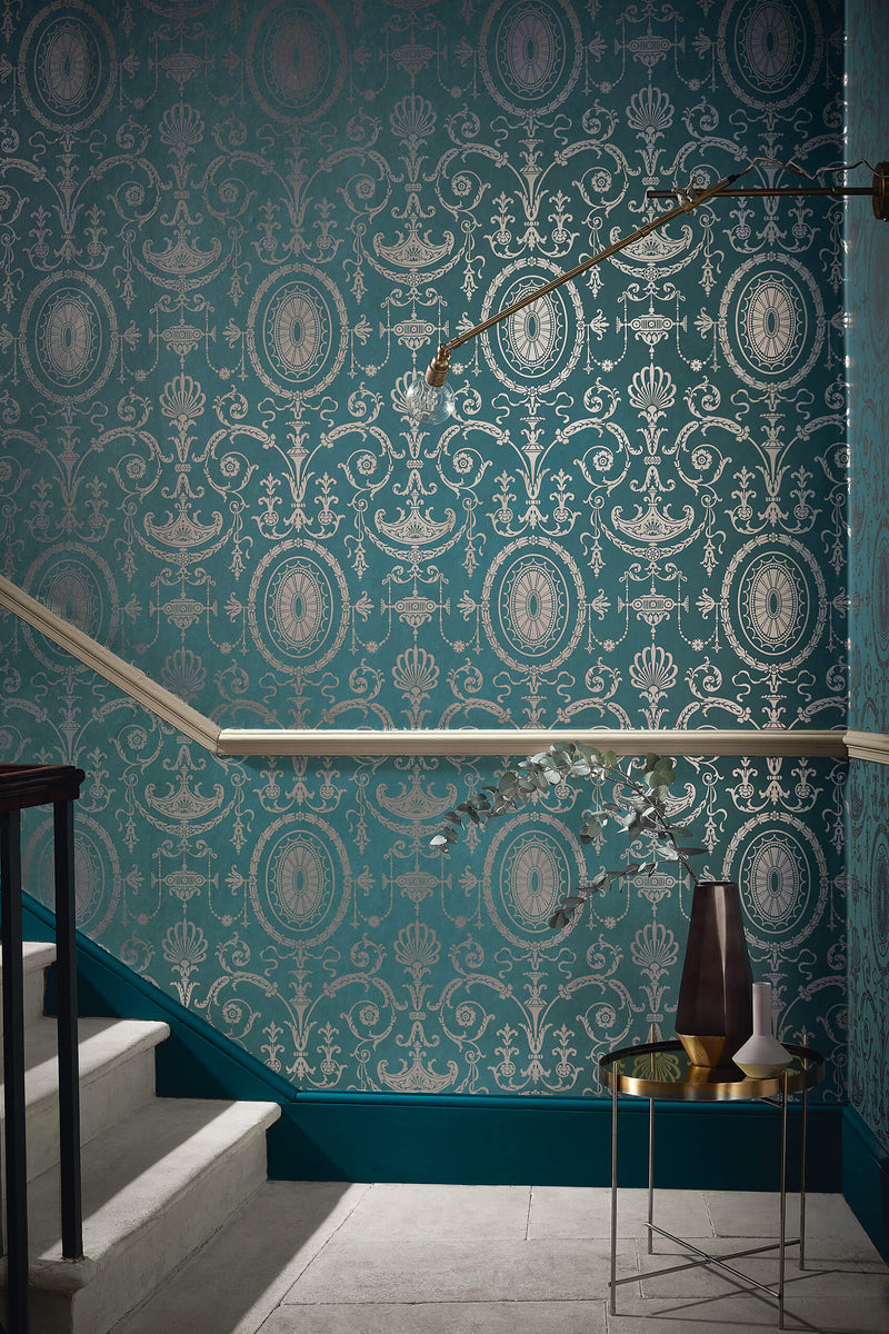 Little Greene - London Wallpapers IV - Pall Mall - Canton Gold