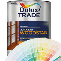 Dulux Trade Quick Dry Woodstain (Woodcare Colours)