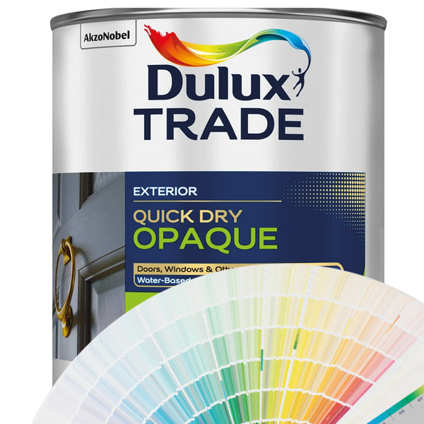 Dulux Trade Quick Drying Opaque (Exterior) (All Colours)