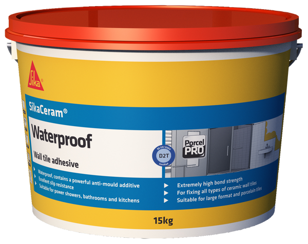 SIKACERAM WATERPROOF WALL TILE ADHESIVE