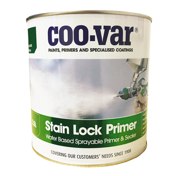 Coo-Var Stain Lock Sprayable Primer White