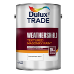 Dulux Trade Weathershield Textured Masonry Paint Pure Brilliant White