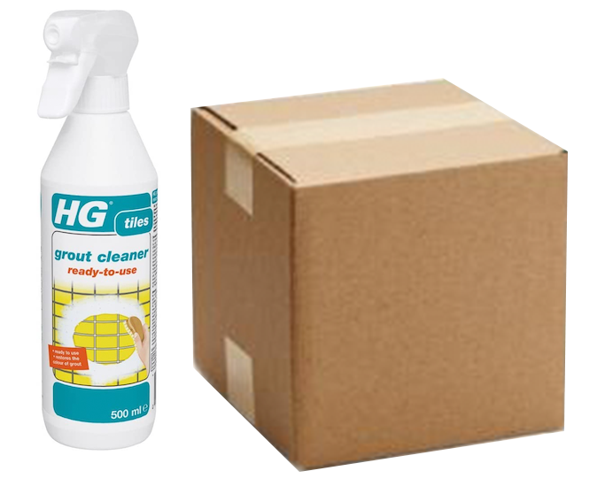 500ml HG Grout Cleaner Spray (Box of 6)