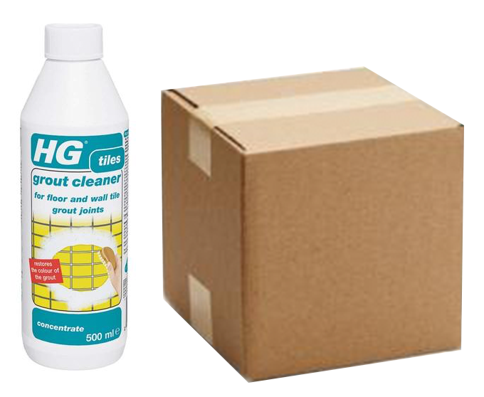 500ml HG Grout Cleaner Concentrate (Box of 6)