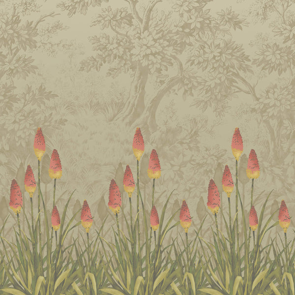 Little Greene - London Wallpapers IV - Upper Brook Street - Midi