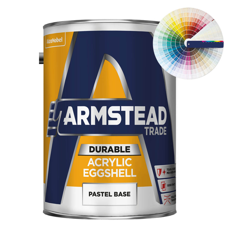Armstead Trade Durable Acrylic Eggshell (Armstead Colours) 5L