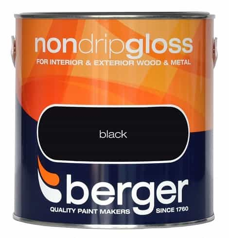 Berger Non Drip Gloss (All Colours)
