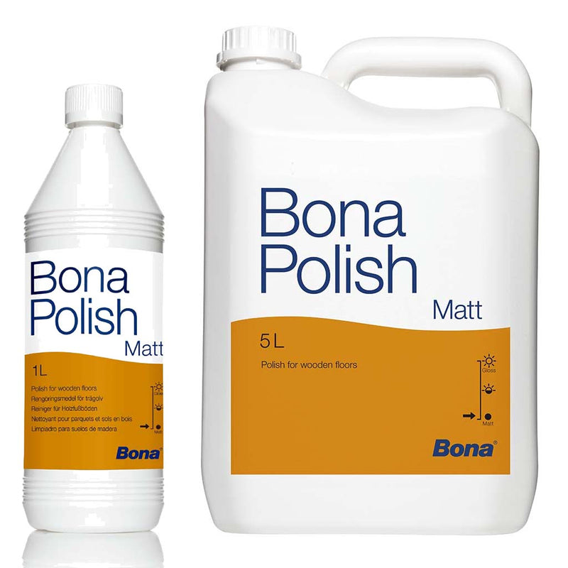Bona Polish For Lacquered Floors (Matt & Gloss) 1L/5L