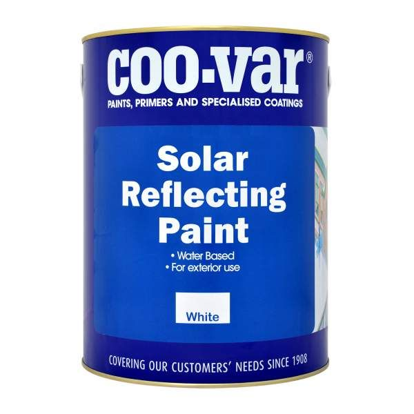 Coo-Var Solar Reflective Roof Paint White 5L