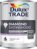 Dulux Trade Diamond Satinwood Pure Brilliant White