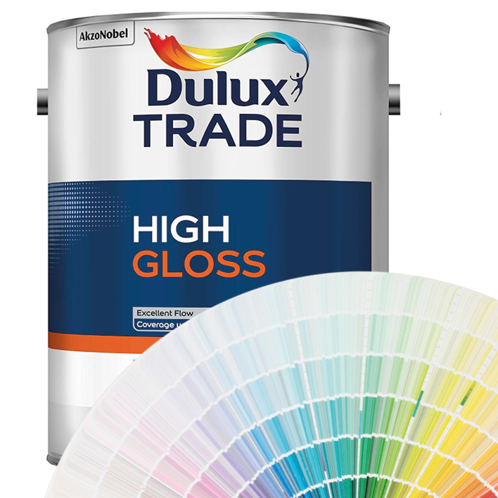 Dulux Trade High Gloss Colours