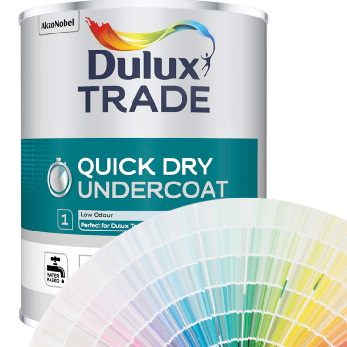 Dulux Trade Quick Drying Undercoat 1L/2.5L/5L (Tinted Colours)