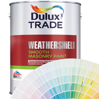 Dulux Trade Weathershield Smooth Masonry (All Colours)