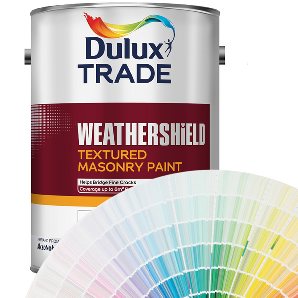 Dulux Trade Weathershield Textured Masonry Paint (Colours)