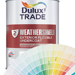 Dulux Trade Weathershield Exterior Flexible Undercoat (Colour)