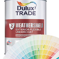 Dulux Trade Weathershield Exterior Flexible Undercoat (All Colours)
