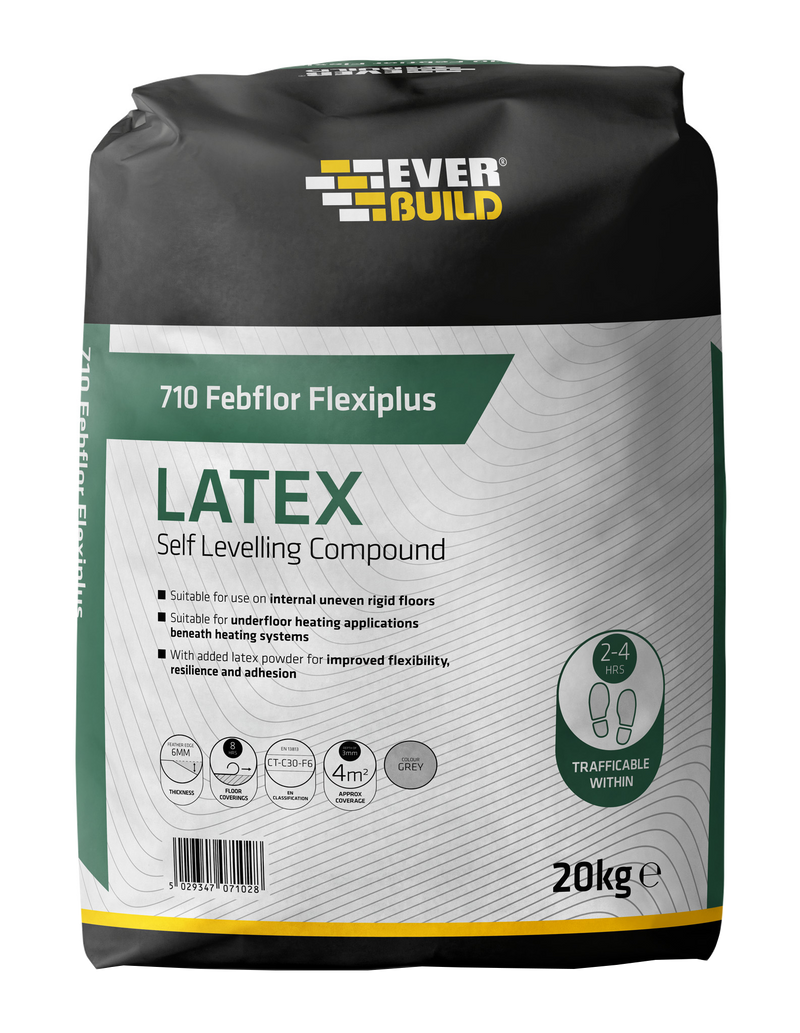 Everbuild 710 Febflor Flexiplus Self Levelling Compound 20kg
