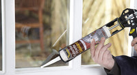 Everbuild EXTWH 290ml External Frame Acrylic Sealant (White & Brown)