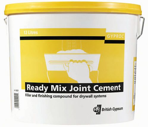 British Gypsum Ready Mix Joint Cement 12L