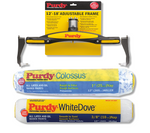 "Purdy 12-18"" Adjustable + 12"" White Dove & Colossus Sleeves"