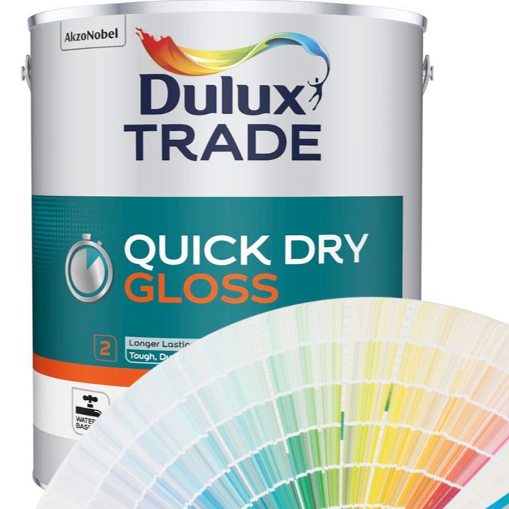 Dulux Trade Quick Drying Gloss 1L/2.5L/5L (Tinted Colours)
