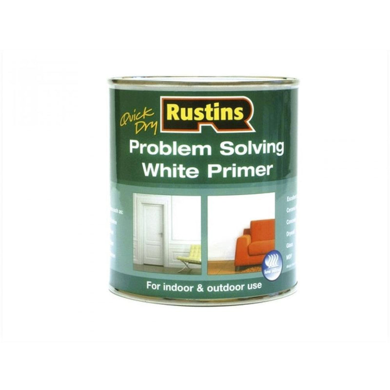 Rustins Problem Solving White Primer 500ml