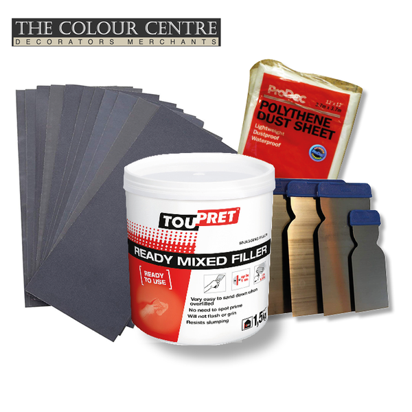 Toupret Ready Mixed Sanding Bundle - Choice of Grade