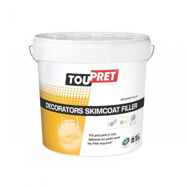 Toupret Decorators Skimcoat Filler 10kg
