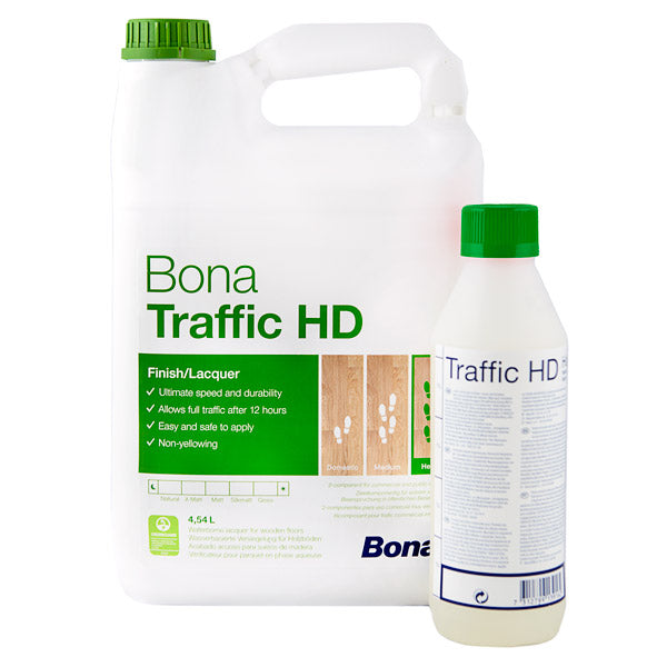 Bona Traffic HD Floor Lacquer - Matt 4.95L Bundle