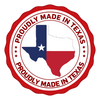 Proudly made in Texas